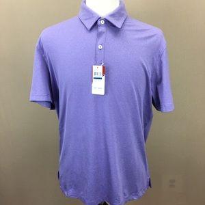 NWT IZOD Dahlia Purple Golf SS Polo Shirt XL